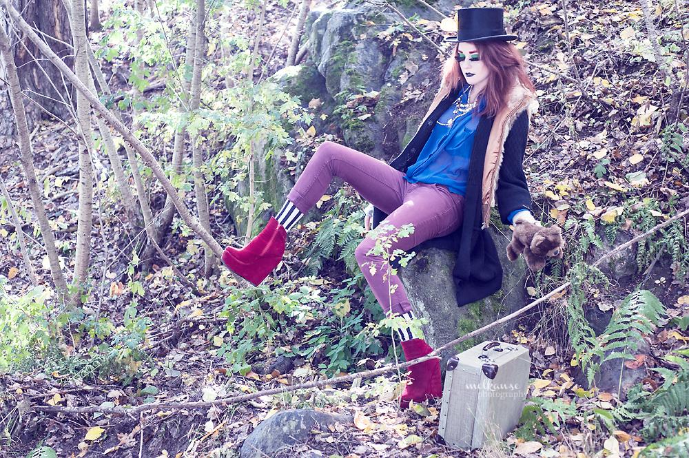 Hobo fashion.
