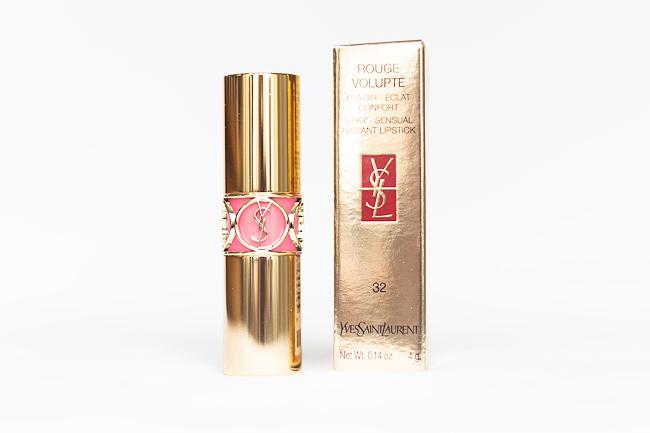 YSL Rouge Volupté 32 Corail Jalouse molkan skönhetsblogg