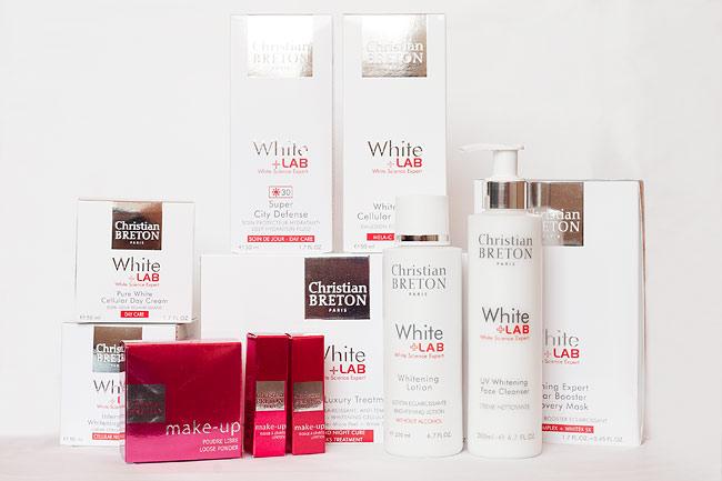Christian Breton White Lab molkan skönhetsblogg