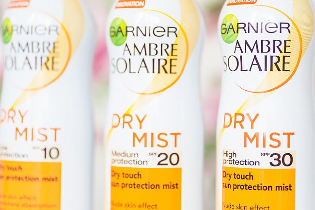 Garnier Ambre Solair Dry Mist molkan Skönhetsblogg