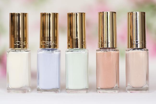 molkan skönhetsblogg L'Oréal Paris Color Riche Le Vernis Les Blancs 2014