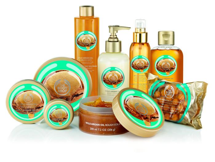 Wild Argan Oil Bath & Body molkan skönhetsblogg