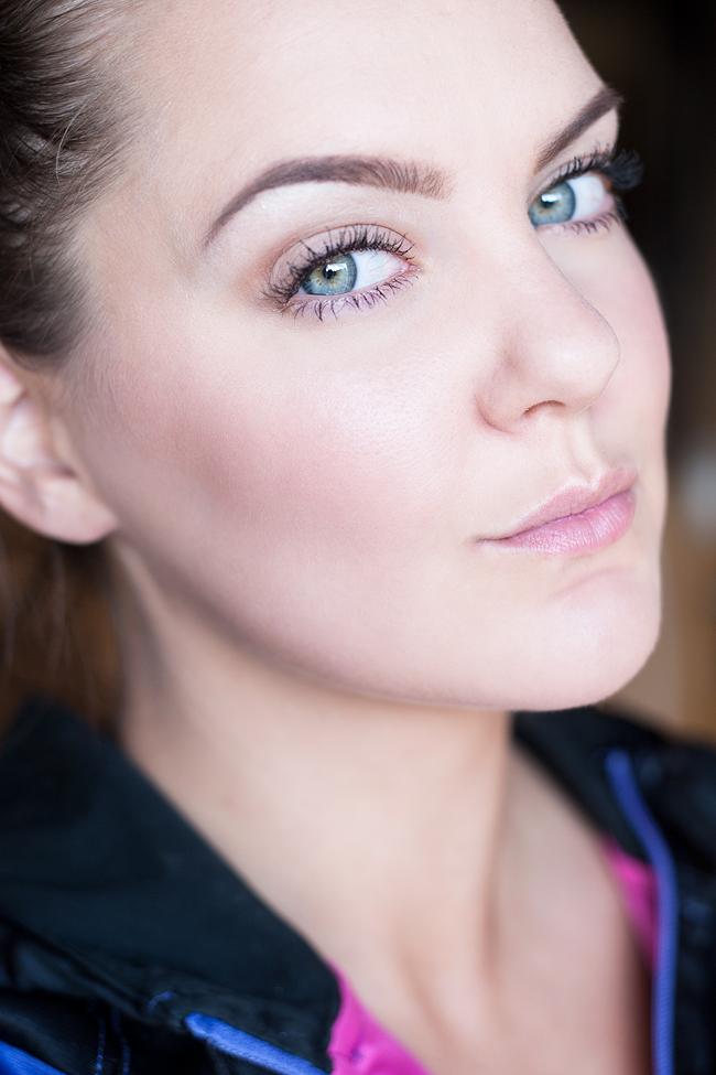 molkan skönhetsblogg simple makeup