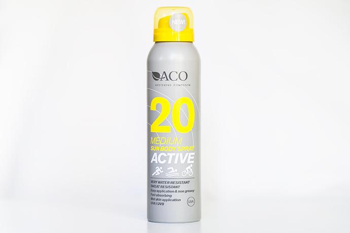 ACO SOL Active Skönhetsblogg molkan