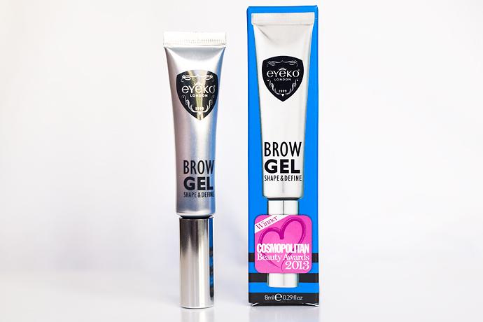 Skönhetsblogg molkan eyeko Brow Gel Eye Do Liquid Eyeliner Fat Brush Mascara Black Magic Mascara