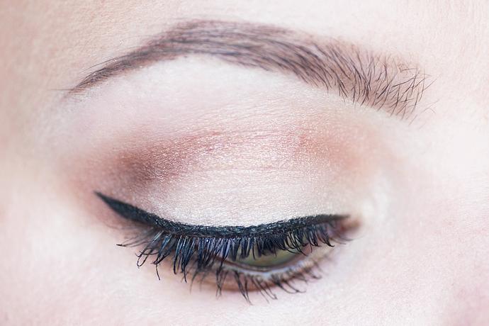 motd molkan skönhetsblogg golden nudes makeup