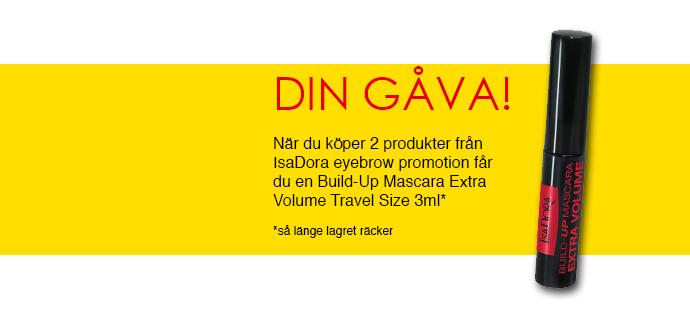 skönhetsblogg molkan isadora eyebrow promotion eyebrow shaping gel brow styling wax pen nyhet news