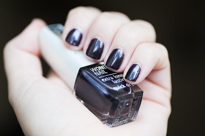 skönhetsblogg molkan isadora wonder nail 790 black coffee nail polish