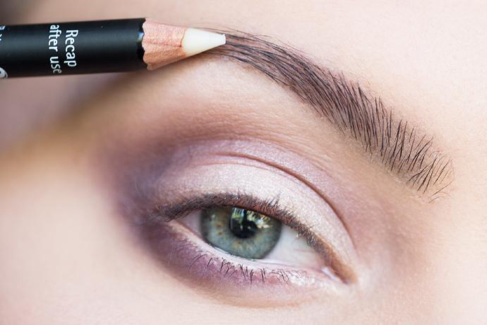 molkan Skönhetsblogg IsaDora eyebrow ögonbryn tutorial guide