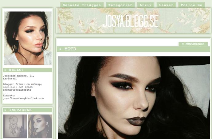 populära skönhetsbloggar