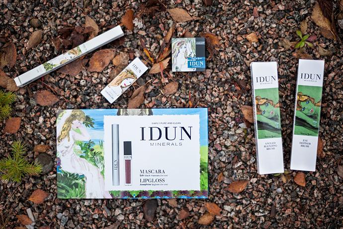 molkan skönhetsblogg idun minerals höst nyheter autumn news 2014 julkit christmas kit