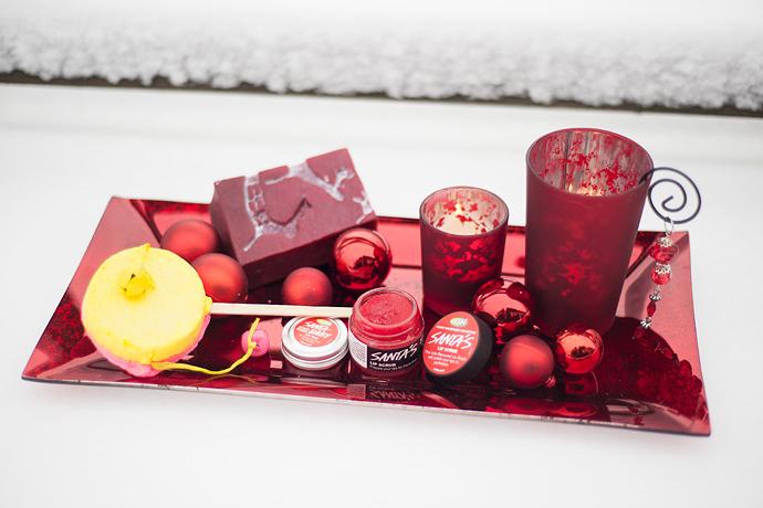 molkan skönhetsblogg LUSH christmas vinter winter 2014