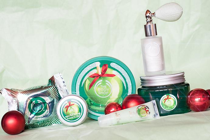 molkan skönhetsblogg the body shop tbs glazed apple christmas jul 2014
