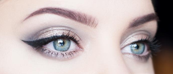 Isadora mezmerize makeup holiday look 2014 molkan skönhetsblogg sminkning