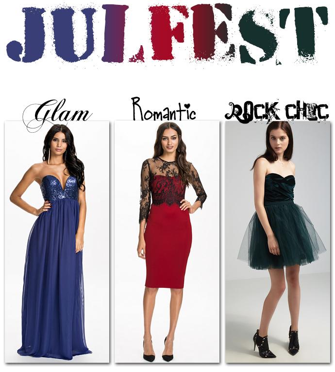 julfest julklapp outfit klänning glam romantic rock chic mode fashion molkan skönhetsblogg