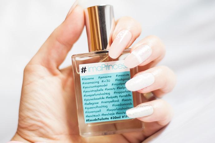 parfums hashtag #crazygirl #iloveyou #imaprincess edt