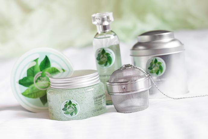 The Body Shop Fuji Green Tea Collection