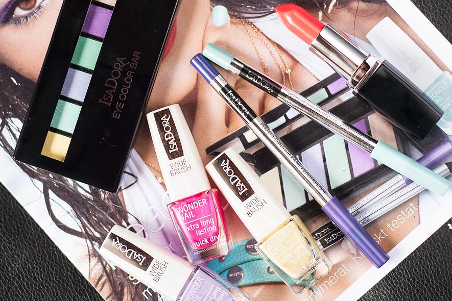 isadora beach club summer make-up 2015