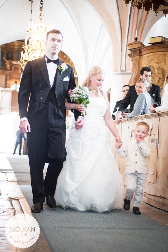 Sneak peek på helgens bröllop