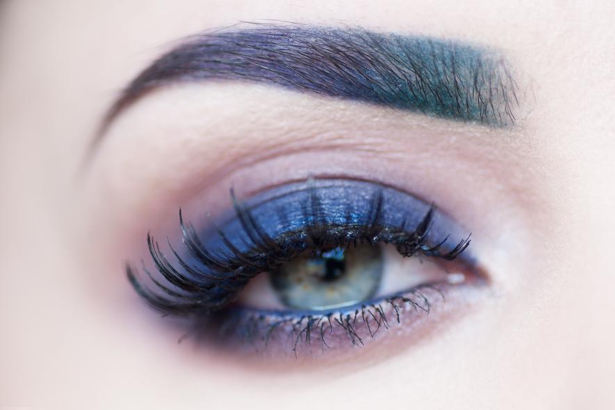 motd dark matter blue makeup skönhetsblogg blå smkining