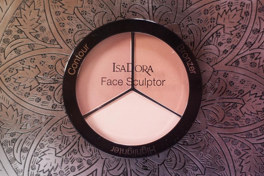 isadora nyheter grand volume lash styler protect face primer tinted face sculptor shadow blender face buffer