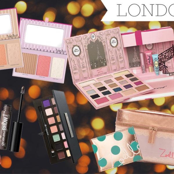london shopping list 2015
