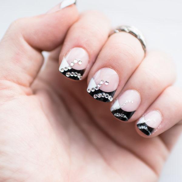 depend glamour look false nails lösnaglar