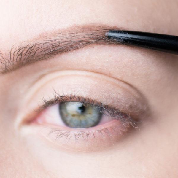 ögonbrynstutorial eyebrow tutorial molkan skönhetsblogg pictorial