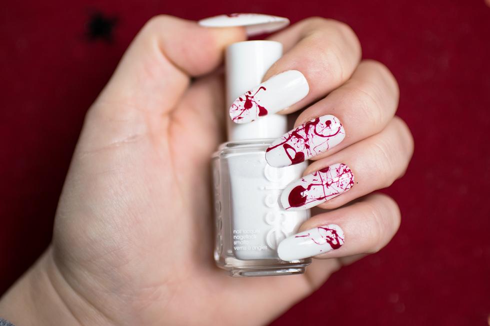 NOTD: Blood Splatter