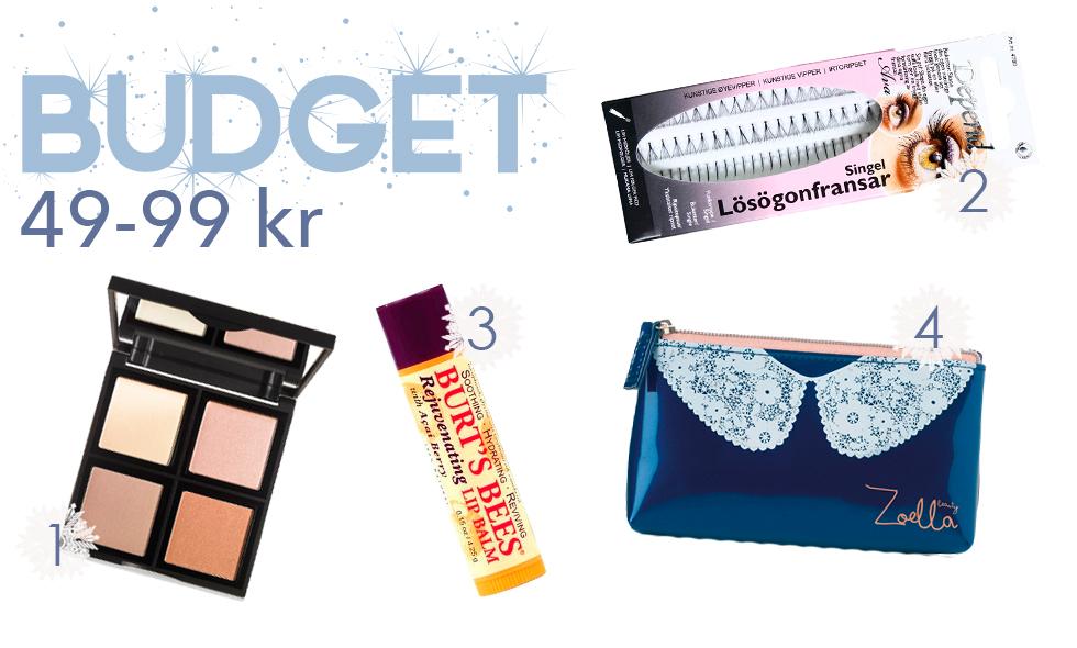 skönhetsklappar budget gift guide molkan