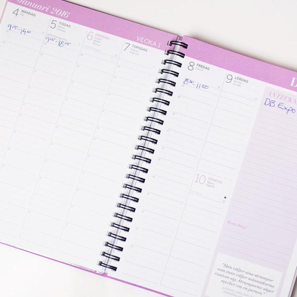 damernas värld almanacka kalender 2016