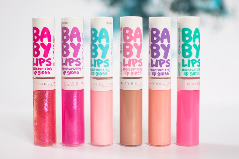 baby lips moisurizing lip gloss