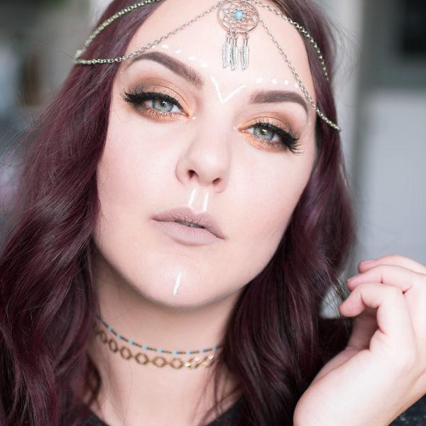 boho festival chic motd makeup