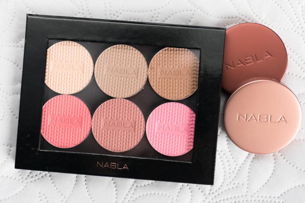 nabla shade & glow blossom blush