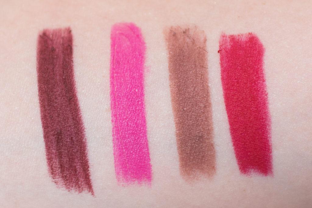 nyx full throttle lipsticks