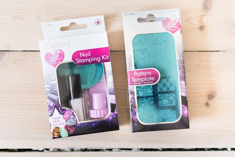 depend stamping kit