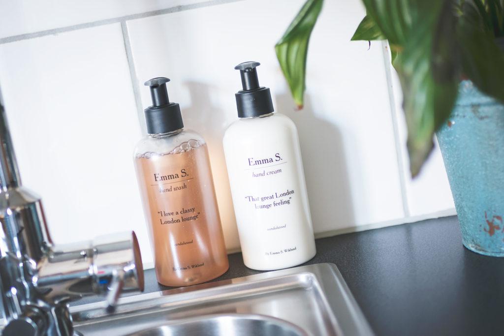 emma s. hand soap hand cream
