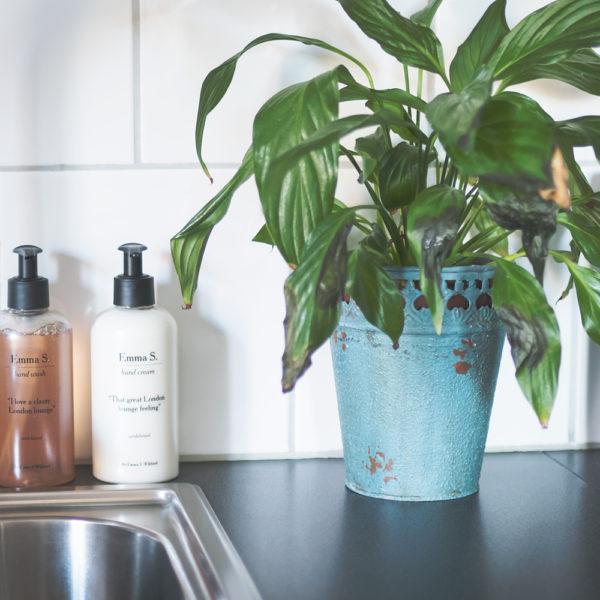 emma s. london lounge hand wash hand cream
