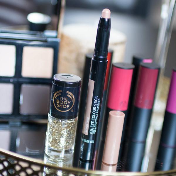 the body shop party looks go for gold colour crush matte lipstick