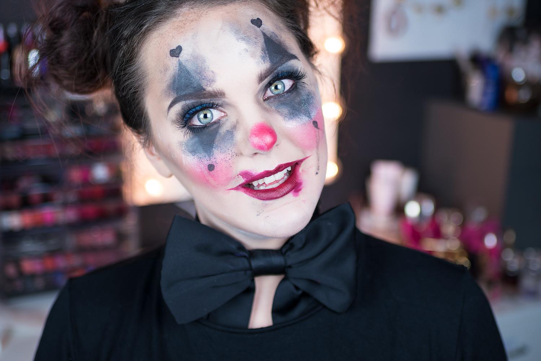 motd clown messy halloween