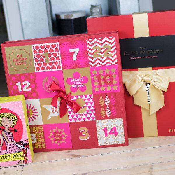 christmas calendars skönhetskalendrar 2016 rituals the body shop benefit