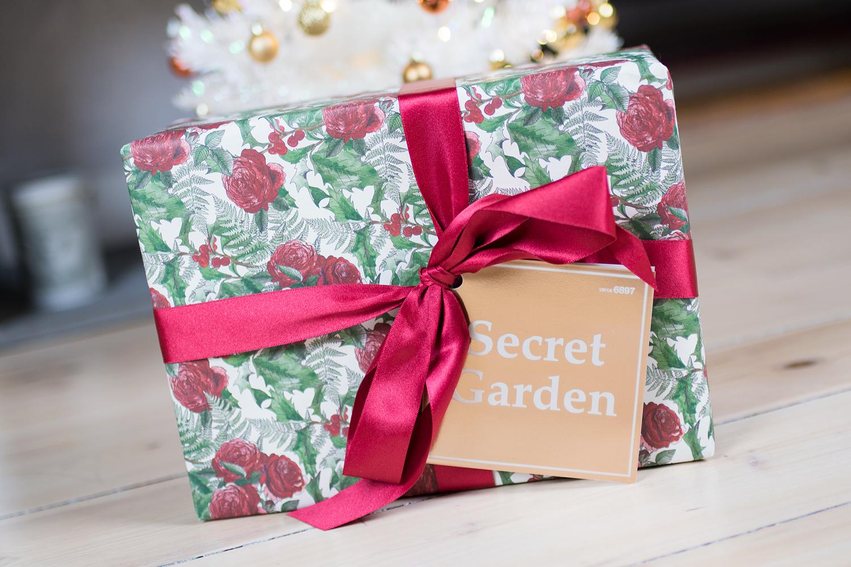 julklappar lush secret garden