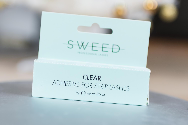 sweed lashes boo ash mads lash glue