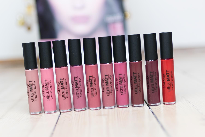 isadora ultra matt liquid lipstick