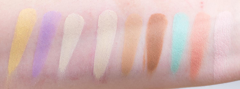 viva la diva matte lip tint under cover correct & contour cream contour palette mauve me