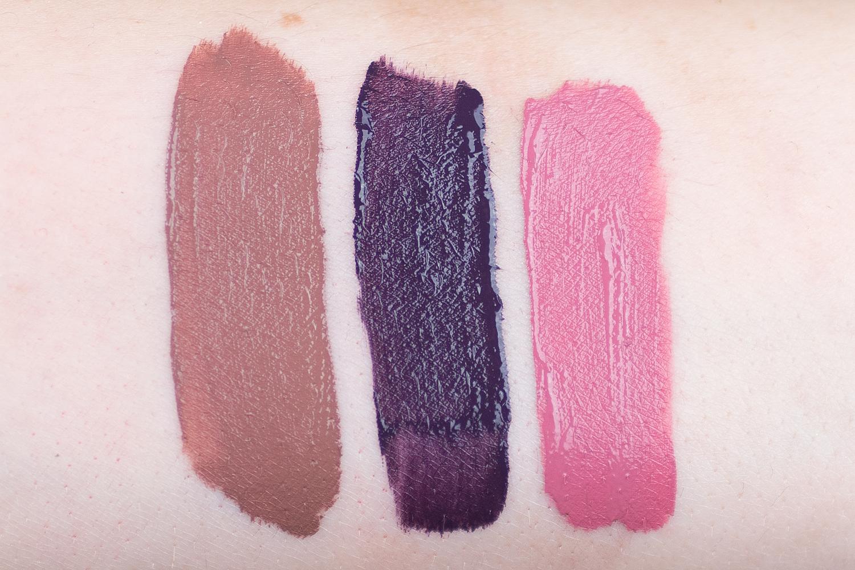 anastasia liquid lipstick lipgloss eyeshadow