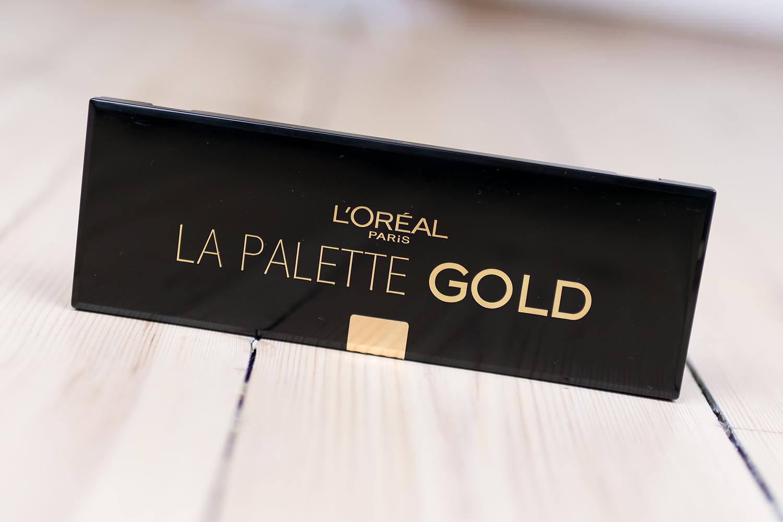 l'oréal paris extravaganza 2016 la palette gold