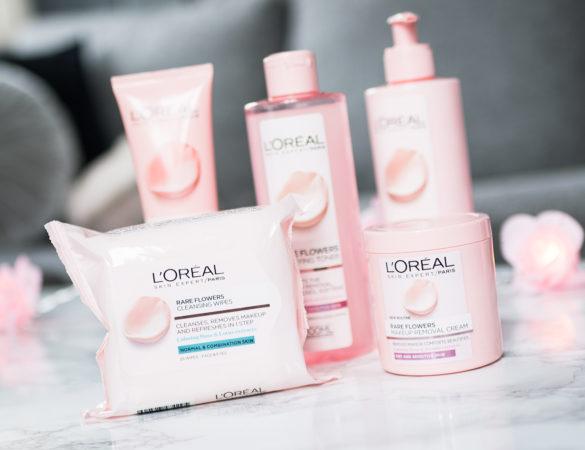 L'Oréal lanserar ny rengöringsserie med jasmin och ros