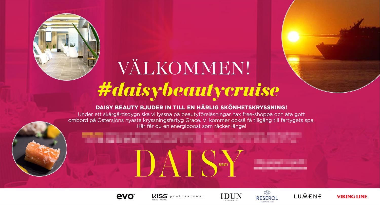daisy beauty cruise 2017
