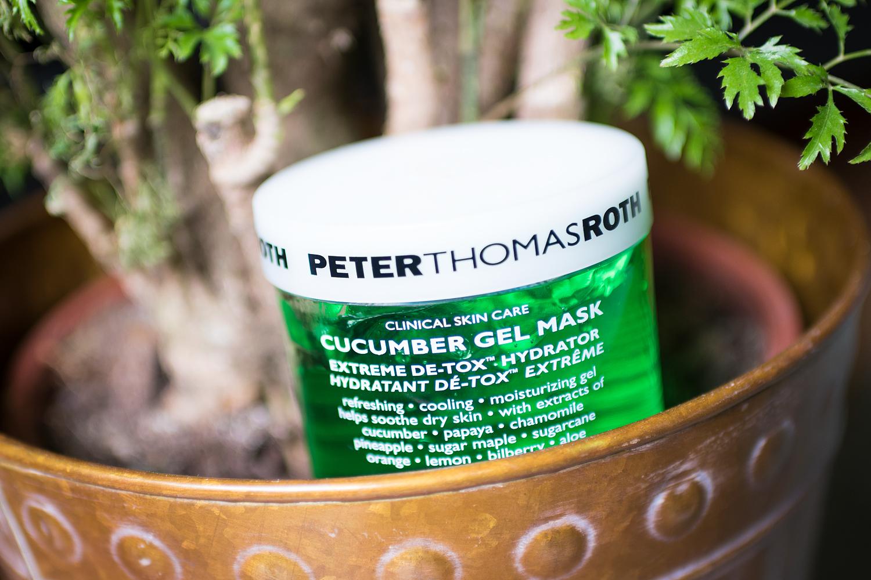 söndagsmasken peter thomas roth cucomber gel mask